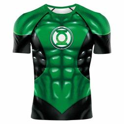 GREEN LANTERN CORPS COMPRESSION SHIRT RASH GUARD LIKE UNDER