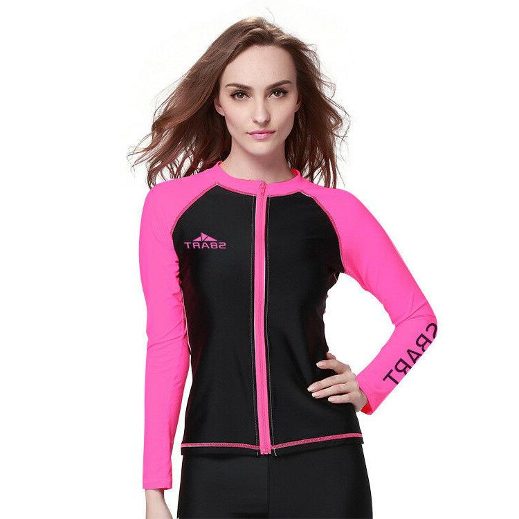SBART Male&Femal  Diving Wetsuit  Long Sleeve Tops Surfing R