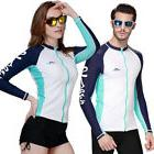 SBART UNISEX Rash Guard Long Sleeve Tops Diving Surfing Clot