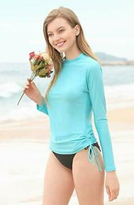 ATTRACO Sun Shirts Long Swimsuit Top XX-Large