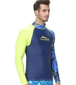 SBART Men Scuba Diving Quick-Dry T-shirt Snorkeling Surfing