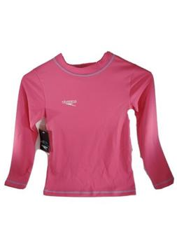 NEW SPEEDO RASH GUARD SIZE XS 50+ SUV BLOCKTHBURN PINK