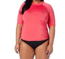 New Kanu Surf Women's Plus-size Breeze Rashguard, Size 1X