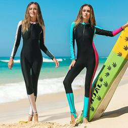 SBART One-piece Women's Rash Guard UV Protection Diving Suit