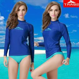 Women's Long Sleeve UV Protection Sun Shirt Rash Guard Base