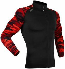zip front uv sun protection long sleeve